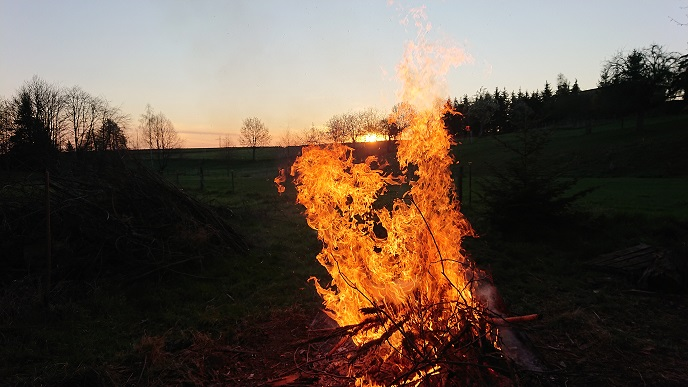 Osterfeuer 2020 Unkersdorf
